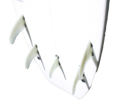 Tri/Quad fin set up - can be used as Keel fins