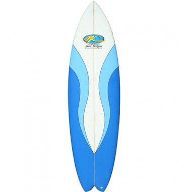 Dart Fish retro spray 2 blue shades