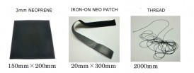 Code WETSUITS REPAIR KIT - Neoprene tape and thread
