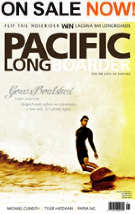 Code Pacific Longboarder Volume 15. Number 1