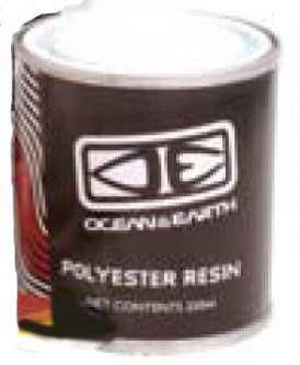 Code Polyester Resin 500ML Ocean and earth