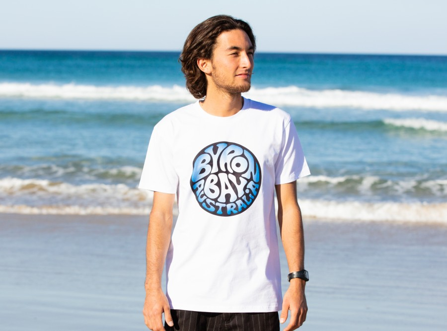 Byron Bay Retro Logo T-shirts