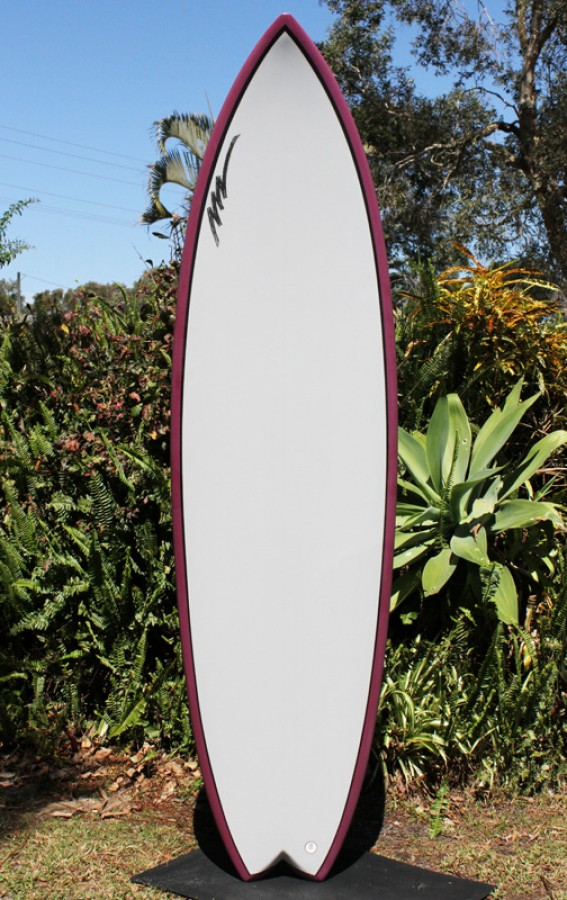Whale Fish 8.0FT Burgandy/grey