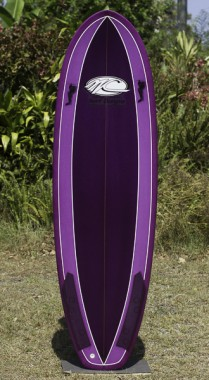 Stubbie purple 6FT
